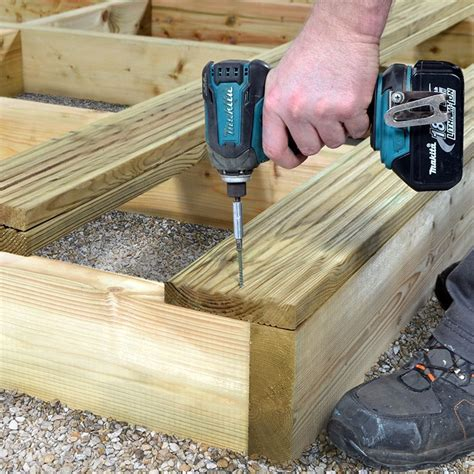 Deck Joist Spacing Uk by Deck Joist C16 Pressure Treated 47mm X 150mm X 2400mm