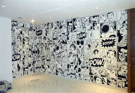 Comic Wall Decor by Office Wall Decor Ideas