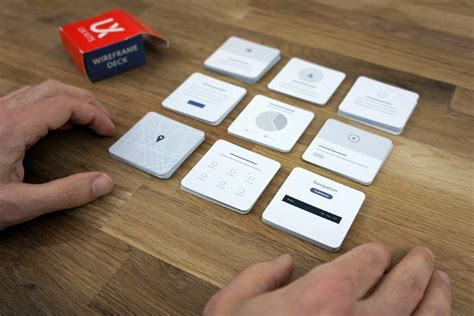 card based ux wireframe maker turns digital ideation