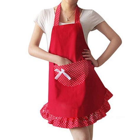 Kitchen Aprons by Fashion Lovely Kitchen Cooking Aprons New Pocket For