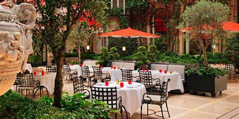 restaurants et bar de l h 244 tel plaza ath 233 n 233 e 224 paris
