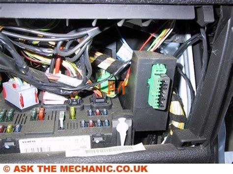 ask the mechanic peugeot diagnostic socket location