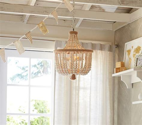 dahlia chandelier pottery barn