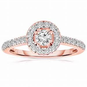 rose gold ring rose gold ring diamond halo ring With rose gold diamond wedding ring