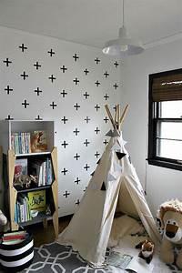 Tipi Chambre Garçon : 15 id es pour cr er un tipi dans une chambre d 39 enfant ~ Teatrodelosmanantiales.com Idées de Décoration