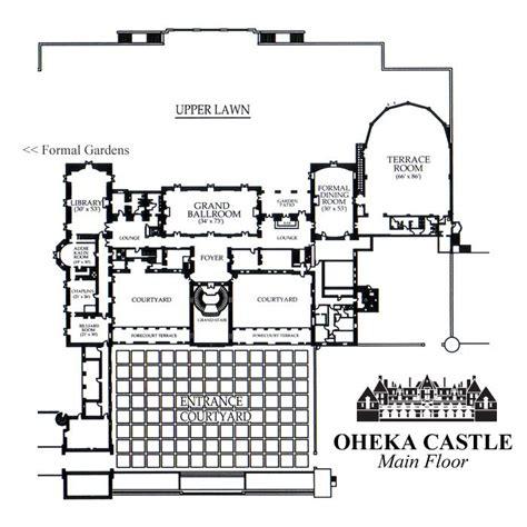 Highclere Castle Floor Plan Second Floor by Oheka Castle Floor Floor Plan The Gilded Age