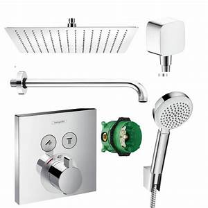 Hansgrohe Unterputz Thermostat : hansgrohe shower select thermostat unterputz ~ Watch28wear.com Haus und Dekorationen