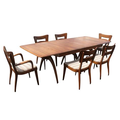 heywood wakefield dining set ebay heywood wakefield m197g dining table ebay