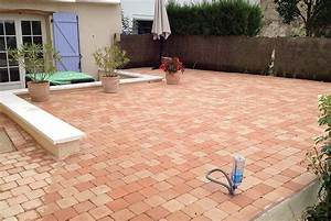 Terrasse paves autobloquants nos conseils for Terrasse en pave autobloquant