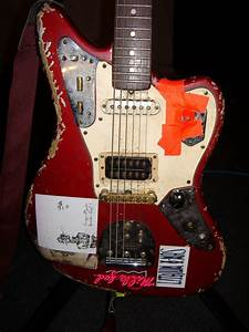 Sonic Youth Gear Guide  Fender Jaguar  Red