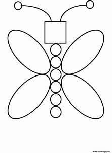 Dessin Facile Papillon : coloriage papillon facile 117 dessin ~ Melissatoandfro.com Idées de Décoration