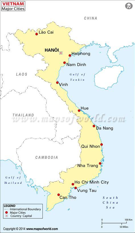 buy vietnam cities map