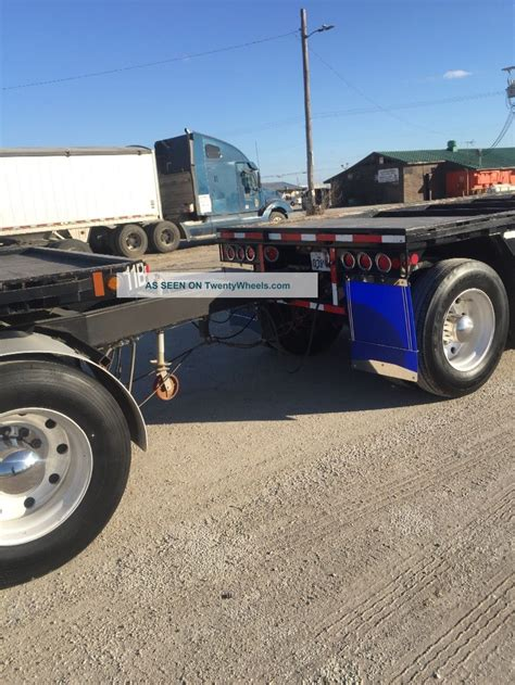 pup flatbed trailers