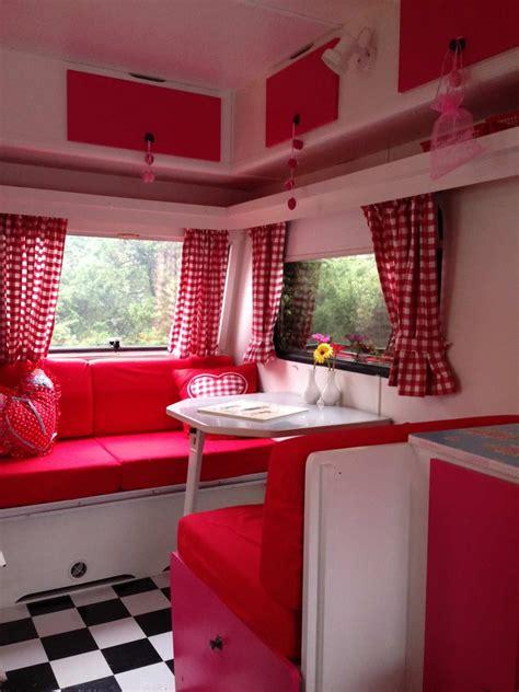 Rot Und Weiss  Wohnwagenideen  Pinterest Wohnwagen