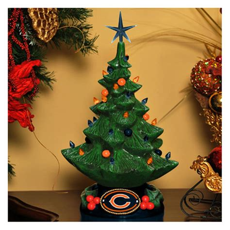 nfl lighted christmas tree 235559 sports fan gifts at sportsman s guide