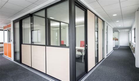cloison modulaire bureau cloison amovible aluminium aménagement bureau espace
