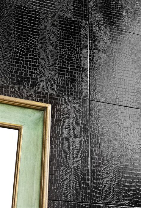 faux wall tile best 25 faux leather walls ideas on leather