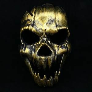 Gruselige Halloween Kostüme : gruselige sch del skelett maske halloween ghost maske kost mball kost me masken ebay ~ Frokenaadalensverden.com Haus und Dekorationen