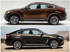 BMW F16 X6 vs BMW E71 X6 Photo Comparison autoevolution