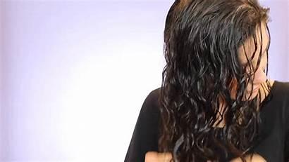 Hair Wet Curly Wavy Gifs Curlier Ways