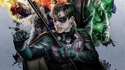 Titans Robin 4k Poster Tv Dc Shows