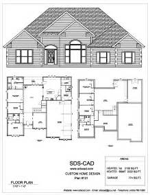 house plan 75 complete house plans blueprints construction documents from sdscad available for 50 00 each