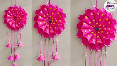 diy paper craft ideas wall decoration simple home