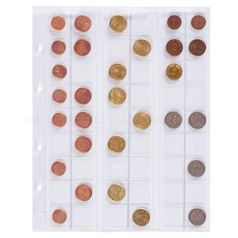 Kabatas monētu kolekcijai Optima ⌀20 mm 5 gab., Leuchtturm ...
