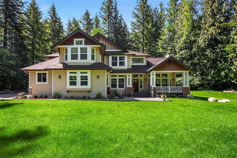 North Bend Custom Craftsman Home