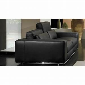 canape 4 places 100 cuir haut de gamme italien a prix With canapé cuir 4 places design