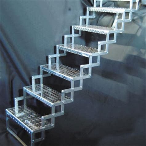 Foldable Stairs Industrial Designer by Solutions To Stairs Part 2 Folding Quot Scissor Quot Steps Core77