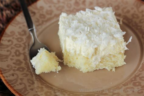 easy coconut sheet cake with coconut icing willow bird baking