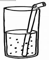 Coloring Pages Drinks Worksheets Kindergarten Preschool Juice Drink Crafts Printables Milk Cup Preschoolactivities Craft Toddler Activity Actvities Clip sketch template