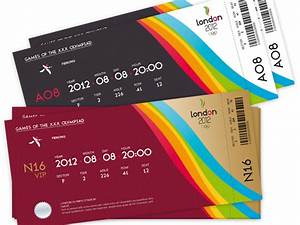 32 Excellent Ticket Design Samples | UPrinting Blog ...