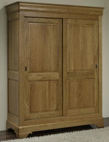 armoire 2 portes jean baptiste en ch 234 ne massif portes