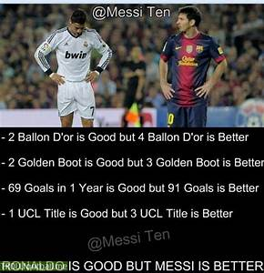 Case closed : Here is why Messi is better than Ronaldo ...
