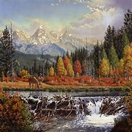 Western Mountain Landscape Paintings