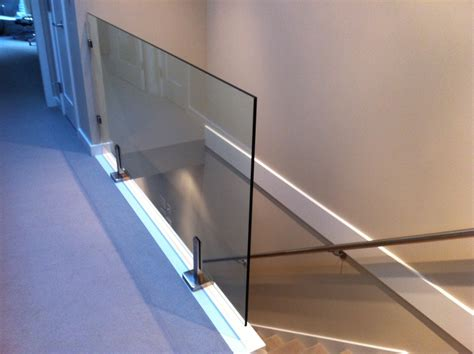 Glass Railings Super Interior Railing With All Clamps