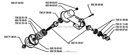 Gear Line Diagram by Husqvarna 225 L 1994 06 Parts Diagram For Gear Complete