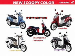 Specs Motorcycle  Honda Scoopy