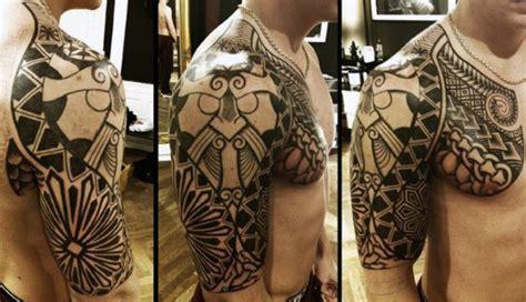 norse tattoos  men medieval norwegian designs