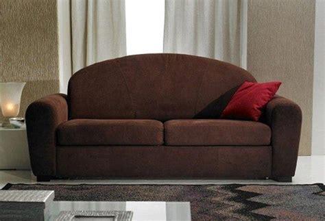 meilleur canapé lit couchage quotidien canape lit cuba marron convertible systeme rapido 160