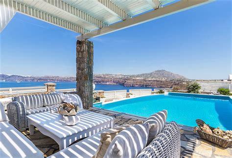 Greece Santorini Villa Vacation rentals with private pool