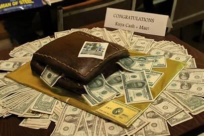 Money Cake Cash Cakes Bills Crazy Register