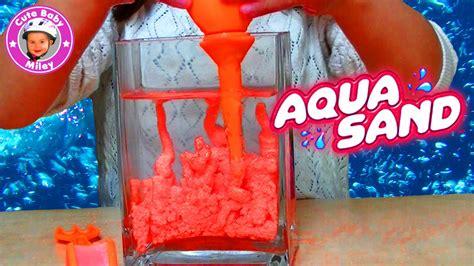 aqua sand magischer sand der niemals nass wird