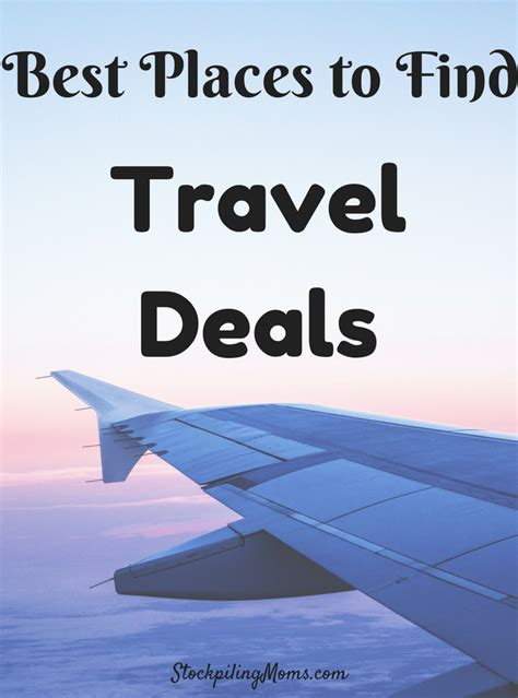 best place to buy a best places to find travel deals