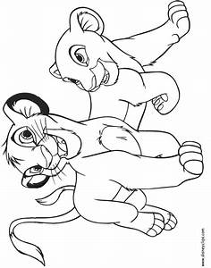 The Lion King Coloring Pages | Disney Coloring Book