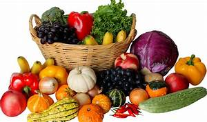 Vegetables in Basket Clipart (25+)