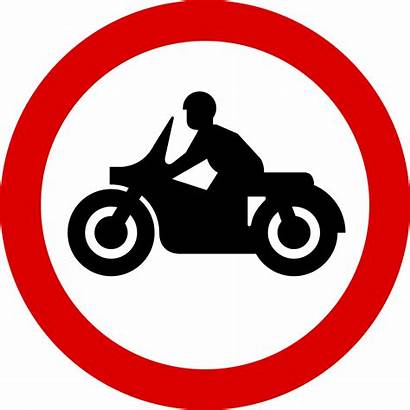 Motorcycles Traffic Signs Road Svg Solo Entry