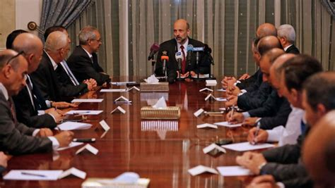 Cabinet Government by Swears In New Government Following Cabinet Shakeup